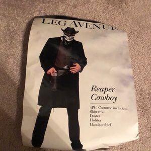 Leg avenue reaper cowboy costume for men